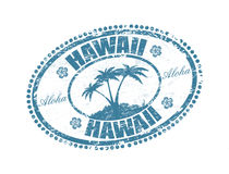 Hawaii stamp Stock Image