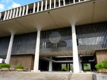 Hawaii State Capitol Building stock photography
