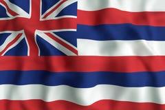 Hawaii State flag Stock Image