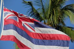 Hawaii State Flag Royalty Free Stock Images