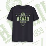 Hawaii state graphic t-shirt design, typography, print. Vector illustration. Hawaii state graphic t-shirt design, typography, print. Vector illustration vector illustration
