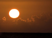 hawaii Stillahavs- soluppgång Royaltyfri Bild