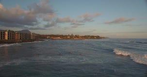 Hawaii strandShoreline lager videofilmer