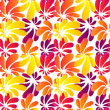 Hawaii style bright seamless pattern Royalty Free Stock Images
