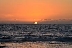 hawaii sunset Obraz Stock