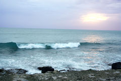 hawaii sunset Fotografia Stock