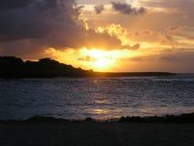 hawaii sunset zdjęcie stock
