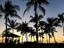 Hawaii Sunset Band Stock Photography