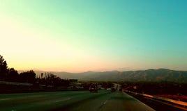 Hawaii. Sunset dusk  beautiful cool Stock Photo
