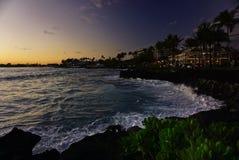 hawaii sunset obrazy royalty free