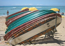 Hawaii surfboards 03 Royalty Free Stock Photography