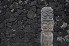 Hawaii Tiki Statue stock image