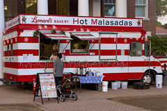 Malasada food truck Stock Image