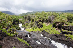 Hawaii, United States of America. Hawaii is the only U.S. state located in Oceania and the only one composed entirely of islands Royalty Free Stock Photography