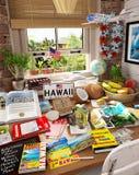 3 Hawaii, USA, holiday destination Vector Illustration