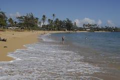 HAWAII_USA_Kapa'a Beqch park Fotografia Royalty Free