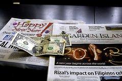 HAWAII_USA_Kauai island daily newspapers Stock Photos