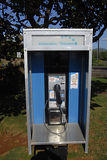 HAWAII_USA_telephone booth Stock Image