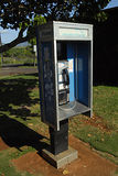 HAWAII_USA_telephone booth Royalty Free Stock Photography