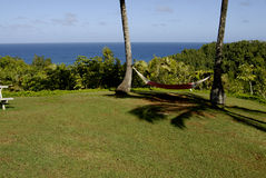 HAWAII_USA_vationers à la station de vacances de theclif images libres de droits