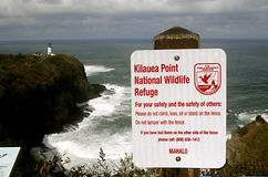 HAWAII_USA_Visitors at Kilauea bay Stock Photo