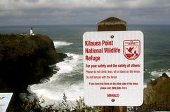 HAWAII_USA_Visitors an Kilauea-Bucht stockfoto