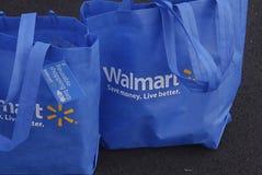 HAWAII_USA_Walmart购物袋 免版税库存图片