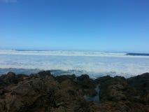 Hawaii vågor Arkivbilder