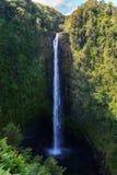 Hawaii vattenfall Arkivfoto