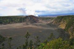 Hawaii Volcano National Park royaltyfri bild