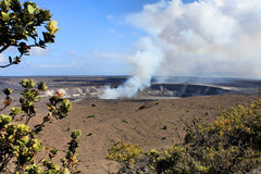 Hawaii volcano Stock Image