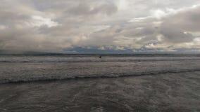 Hawaii-vulkanischer Strand Lizenzfreies Stockfoto