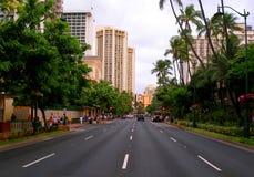 hawaii waikiki Obrazy Royalty Free