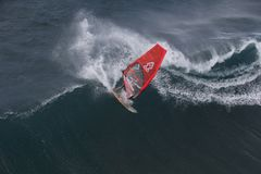 Hawaii, Wind Surfing, Recreation Royalty Free Stock Photos