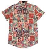 Hawaiiaans gekleurd overhemd Stock Foto's