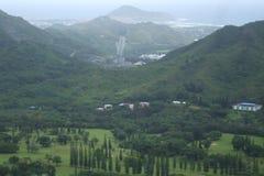 Hawaiiaans landschap Stock Foto's