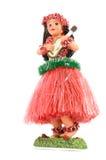 Hawaiiaans Meisje Hula Royalty-vrije Stock Afbeeldingen