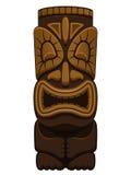 Hawaiiaans Standbeeld Tiki Stock Afbeelding