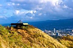 Hawaiiaanse mening Stock Foto's