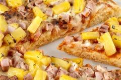 Hawaiiaanse pizza Royalty-vrije Stock Fotografie