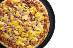 Hawaiiaanse pizza Royalty-vrije Stock Foto's