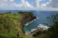 Hawaiiaanse Vuurtoren Stock Foto's