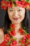 hawaiian девушки стоковые фотографии rf