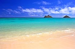 hawaiian пляжа Стоковое фото RF
