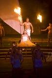 hawaiian танцульки Стоковая Фотография