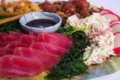 плита hawaiian закуски Стоковые Фотографии RF