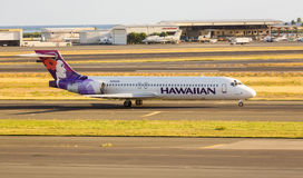 Hawaiian Airline Boeing 717 Stock Image