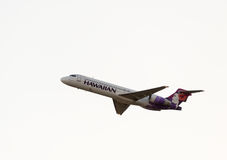 Hawaiian Airline Boeing 717 Stock Photos