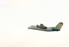 Hawaiian Airline Boeing 717 royalty free stock image