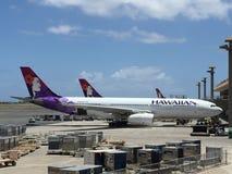 HAWAIIAN AIRLINES Royalty-vrije Stock Afbeelding